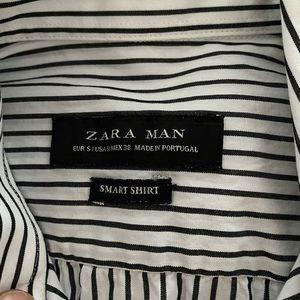 Zara shirt man long sleeve